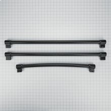 French Door Refrigerator Handle Kit, Black - Other
