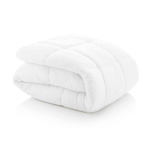 Down Alternative Microfiber Comforter Oversized Queen