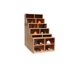 """Modern Oak 48"""" Standard Bookcase"""