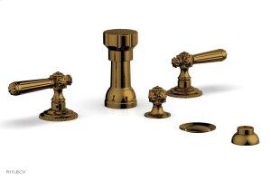 MARVELLE Four Hole Bidet Set 162-61 - French Brass Product Image