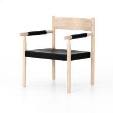 Ebony Natural Finish Acton Chair