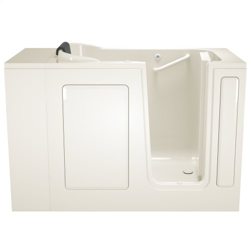 Gelcoat Premium Series 28x48-inch Walk-In Bathtub  Whirlpool Tub  American Standard - Linen