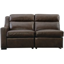 Germain Left Arm Power Motion Loveseat in Mocha (751)