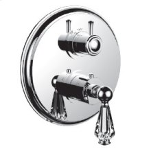 "7096ec-tm - Trim (shared Function) 1/2"" Thermostatic Trim With 2-way Diverter in Polished Chrome"