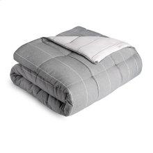 Chambray Comforter Set Full Birch