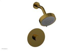 BASIC II Pressure Balance Shower Set 230-21 - French Brass Product Image