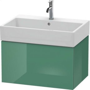 Vanity Unit Wall-mounted, For Vero Air # 235070jade High Gloss (lacquer)