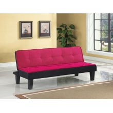 PINK ADJUSTABLE SOFA