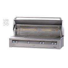 "56"" Jumbo built-in grill"