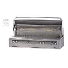 "56"" Jumbo built-in grill"