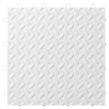 """12"""" x 12"""" Tile Flooring (24-Pack) White"""