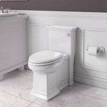 Town Square S Right Height Elongated Toilet with Seat - Right Hand Trip Lever  American Standard - White