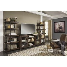 Starmore - Brown/Gunmetal 3 Piece Entertainment Set
