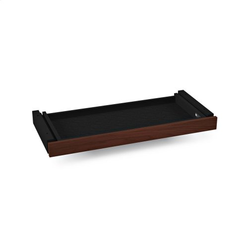 Storage Drawer Fits Model 6052 6059 in Chocolate Stained Walnut