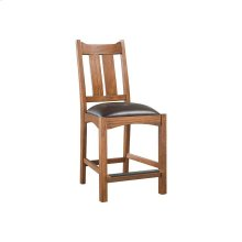 Oak Park Wide Slat Counter Stool