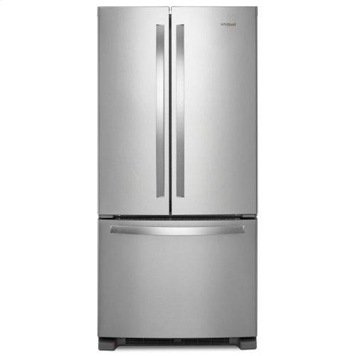 33-inch Wide French Door Refrigerator - 22 cu. ft. Fingerprint Resistant Stainless Steel