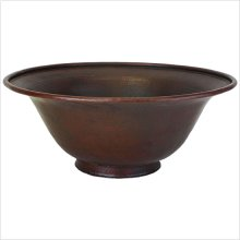 Large Footed Bowl Vessel