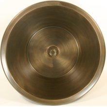 Bronze Round Flat Bottom Smooth