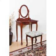 WOOD VENEER VANITY SET/CHERRY Product Image