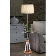 ROSE GOLD FLOOR LAMP