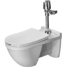 White Starck 3 Toilet Wall-mounted