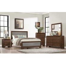 667 Jacob Queen GROUP, QB, Dresser, Mirror & Chest