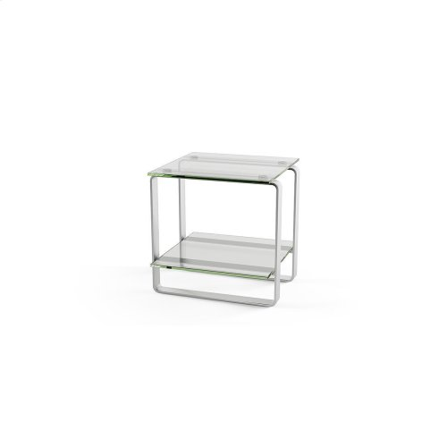 End Table 1646 in Clear Glass