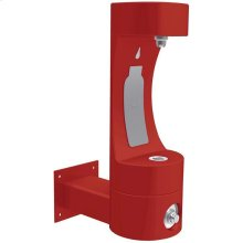 Elkay Outdoor ezH2O Bottle Filling Station Wall Mount, Non-Filtered Non-Refrigerated Freeze Resistant Red