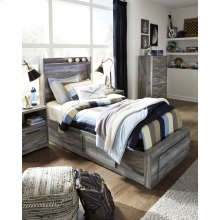 Baystorm - Gray 5 Piece Bed Set (Twin)