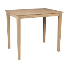T-3042T / T-36S Rectangle Table (top only) / Shaker Legs