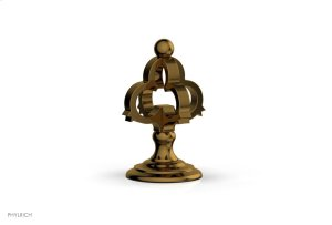COURONNE Volume Control/Diverter Trim 163-35 - French Brass Product Image