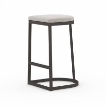 Bar Stool Size Stone Grey Cover Val Outdoor Bar + Counter Stool, Washed Brown