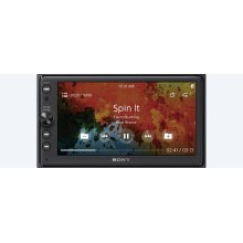"6.4"" (16.3 cm) Media receiver with BLUETOOTH® Wireless Technology"