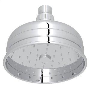 """Polished Chrome 5"""" Bordano Rain Anti-Cal Showerhead Product Image"""
