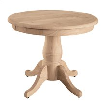 T-22RT / T-18P Round Table / 18'' Traditional Pedestal