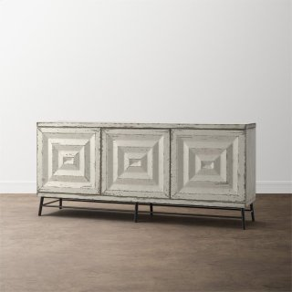 Antiquities Mirage Three Door Credenza