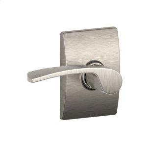 Merano lever with Century trim Hall & Closet lock - Satin Nickel Product Image