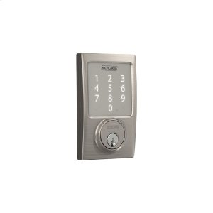 Schlage Sense Smart Deadbolt with Century trim - Satin Nickel Product Image