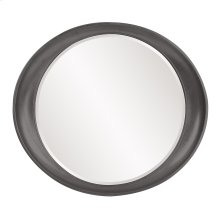Ellipse Mirror - Glossy Charcoal