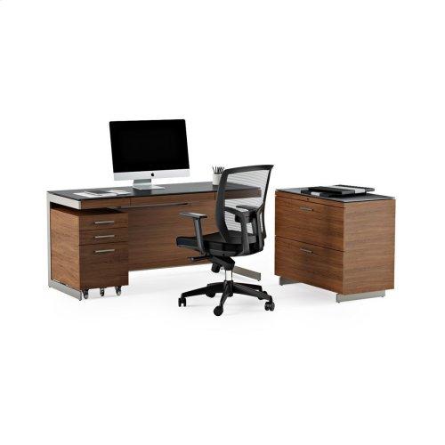 Desk 6001 in Natural Walnut