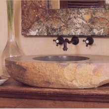 Large Natural Vessel Sink