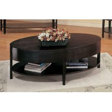 Casual Occasional Cappuccino Coffee Table