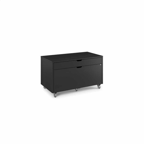 Mobile File Pedestal 6347 in Charcoal Stained Ash
