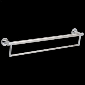 """Chrome 24"""" Contemporary Towel Bar with Assist Bar Product Image"""