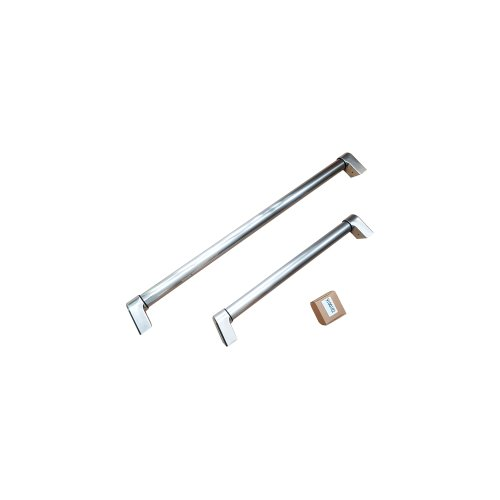 Handle Kit for 31 Bottom Mount refrigerator Stainless Steel