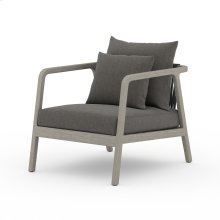 Charcoal Cover Numa Outdoor Chair - Weathered Grey