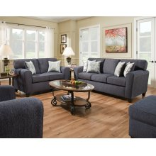 3100 - Uptown Denim Sofa