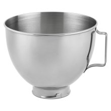 4.5-Qt. Polished Stainless Steel Bowl with Handle Other