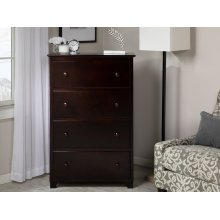 Atlantic 4 Drawer 48 inch Chest in Espresso
