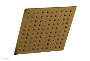"""8"""" X 8"""" Square Shower Head 3-333 - French Brass Product Image"""